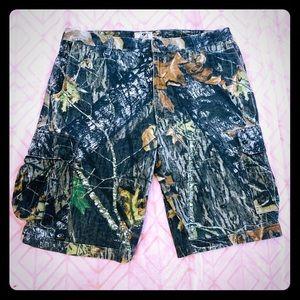 Mossy Oak Camouflage Shorts